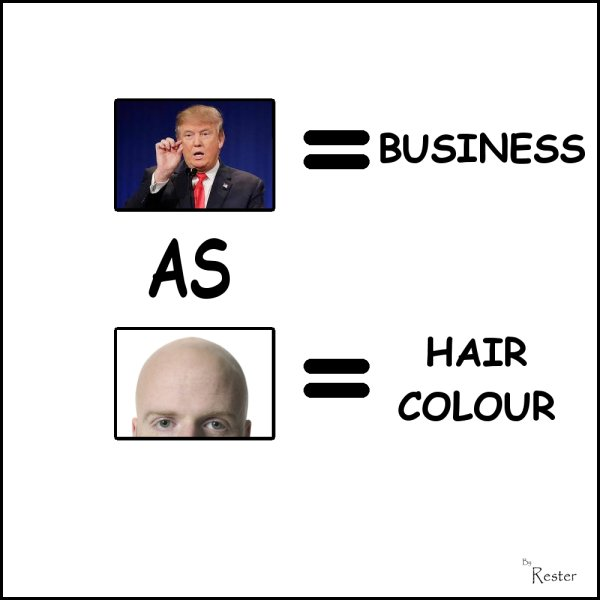 drumph is to business